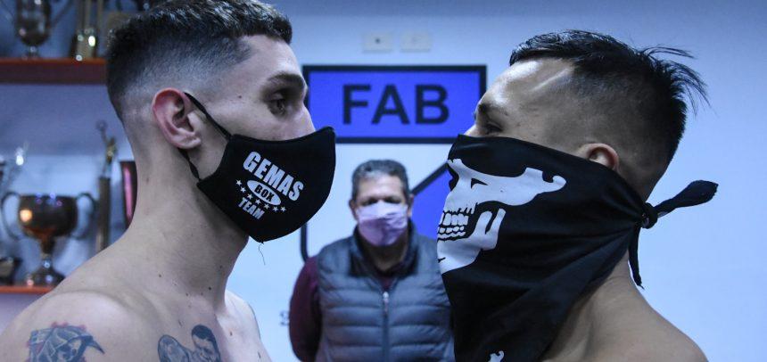 Arce-Pérez, Abellaneda-Alaniz on weight for great show